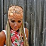 Wide Stretch Lace Headband ..